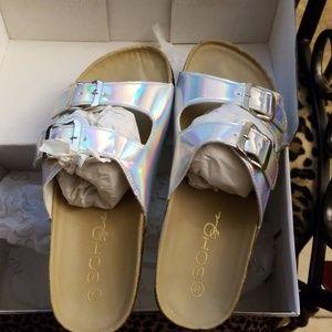 Birkenstock style sandals